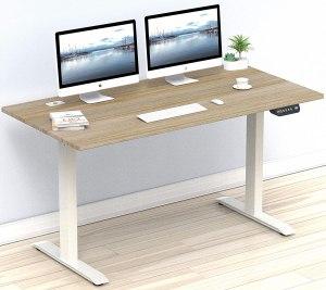 height adjustable desk, ergonomic workstation