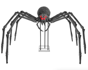 home accents holiday giant spider