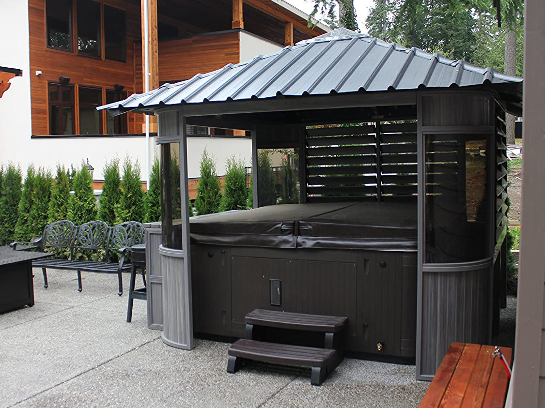 The 8 Best Hot Tub Gazebos You Need For Your Jacuzzi In 2020 Spy