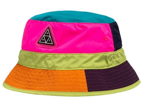 multicolor huf bucket hat