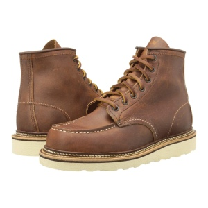 "Red Wing 6"" Moc Toe"