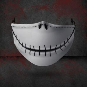 jack skellington face mask, Halloween face masks, best Halloween face masks