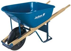 jackson blue wheelbarrow