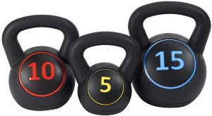 kettle bells, home gym essentials
