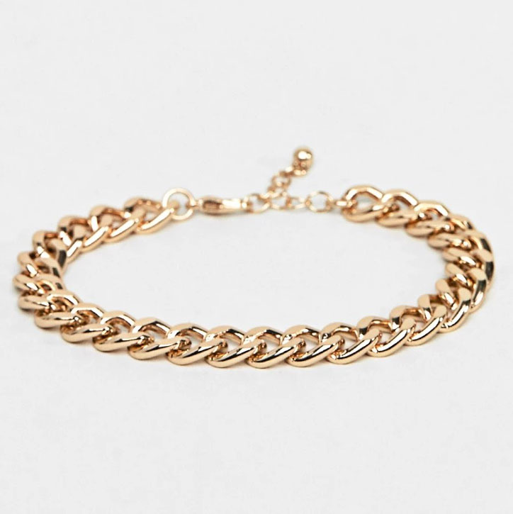 ASOS DESIGN Midweight Chain Bracelet