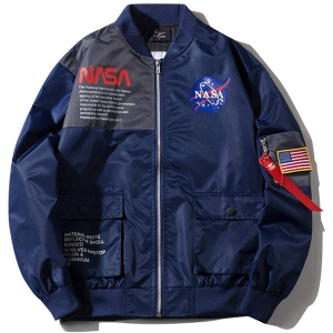 Wildswan NASA MA-1 Biker Bomber Jacket
