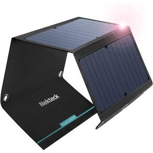 NekTeck 21 Watts Portable Solar Panel Charger
