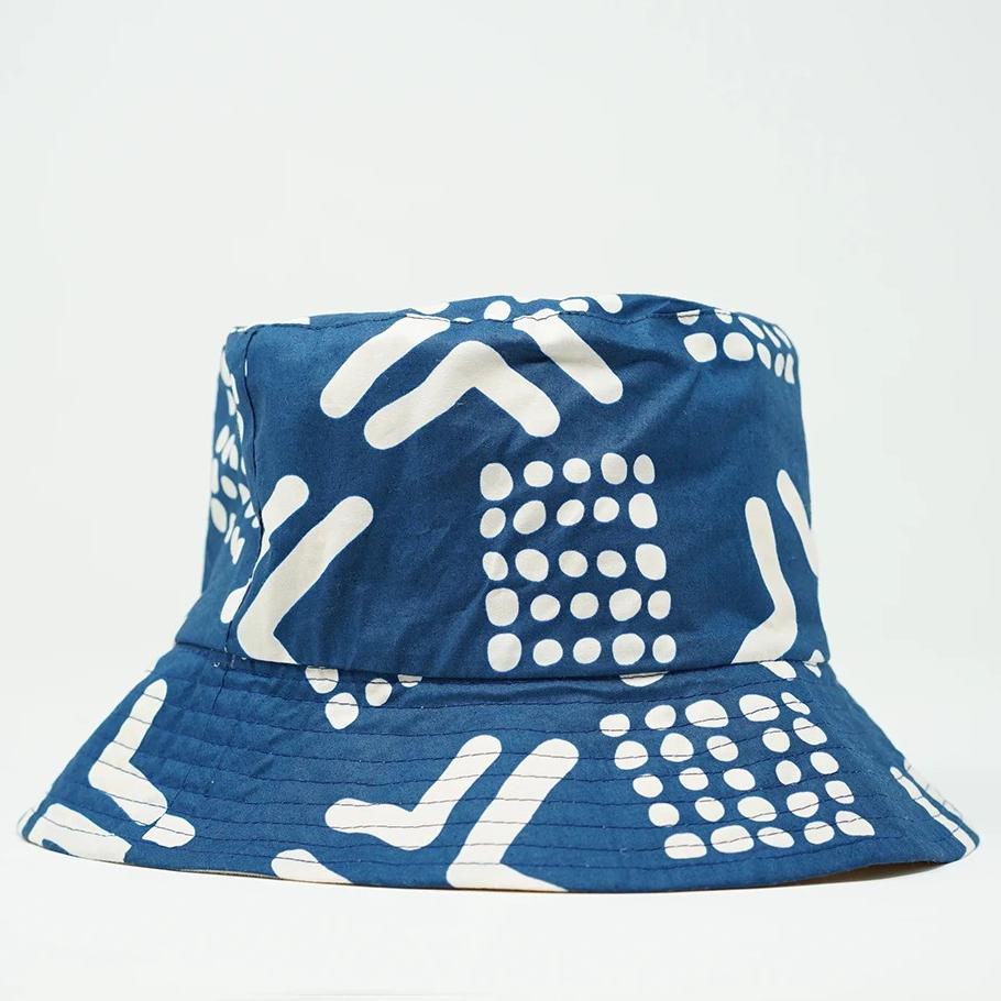 DIOP Mud Navy Bucket Hat