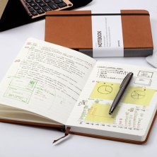 ditch the phone and start using one of these notebooks to jot down ideas