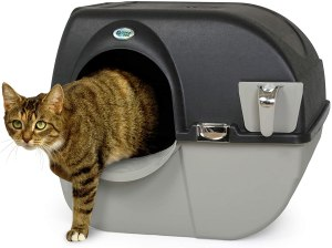omega paw roll n clean self-cleaning litter box, best self-cleaning litter box