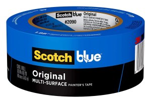scotch blue painter's tape, how to remove wallpaper