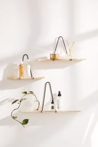 Carter Triangle Bracket Wall Shelf, christmas gifts for her