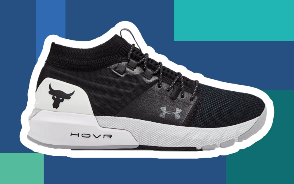 The Rock's New Training Shoes with