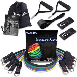 resistance bands set, fitness gifts