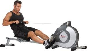 Sunny Health & Fitness Rowing Machine, home gym essentials