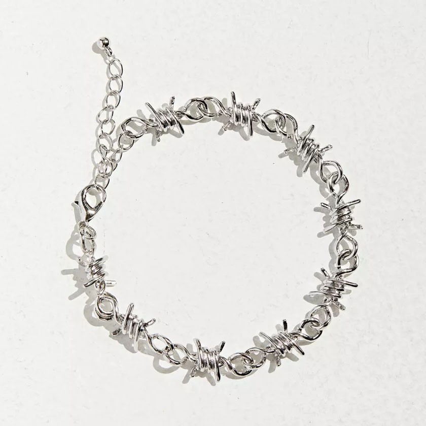 Urban Outfitters Barbed Wire Bracelet