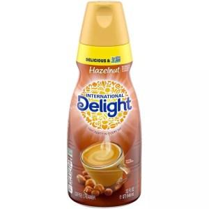 International Delight Hazelnut Crème Creamer