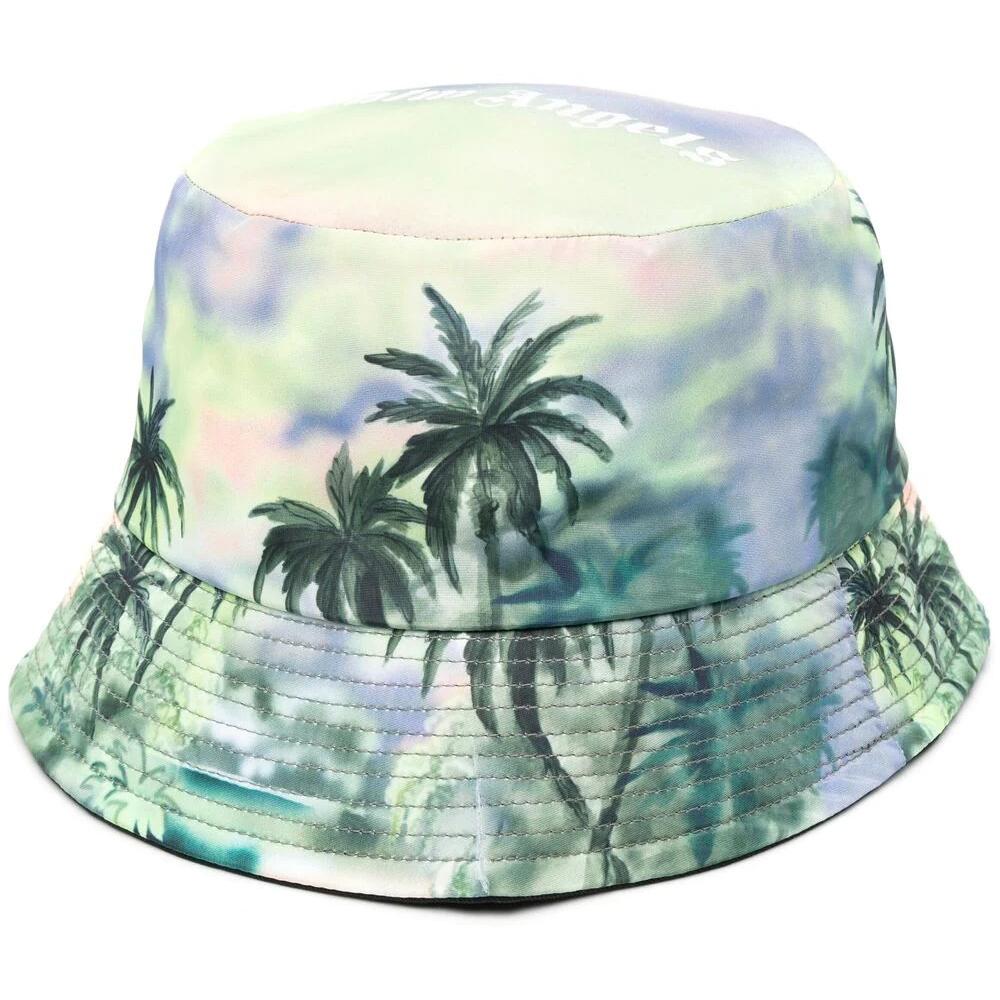 Palm Angels Palm-Print Bucket Hat