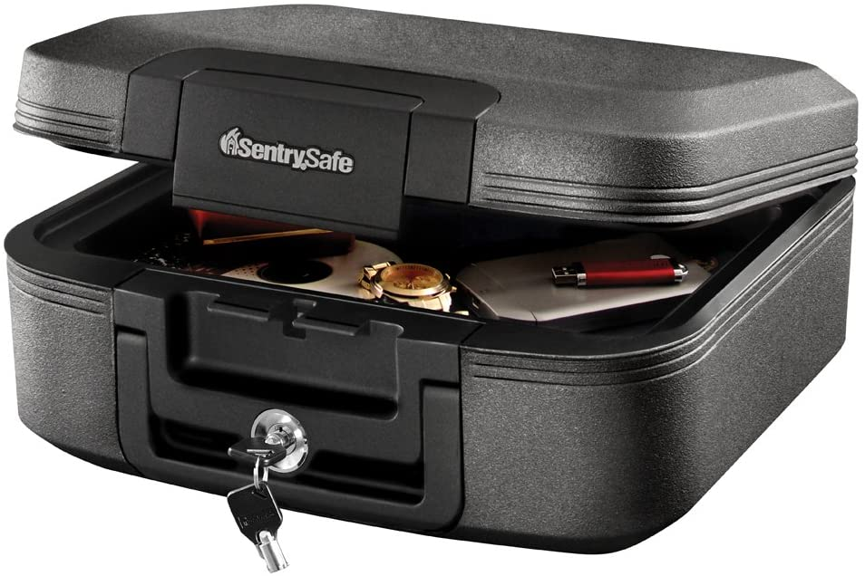 sentrysafe fireproof lock box
