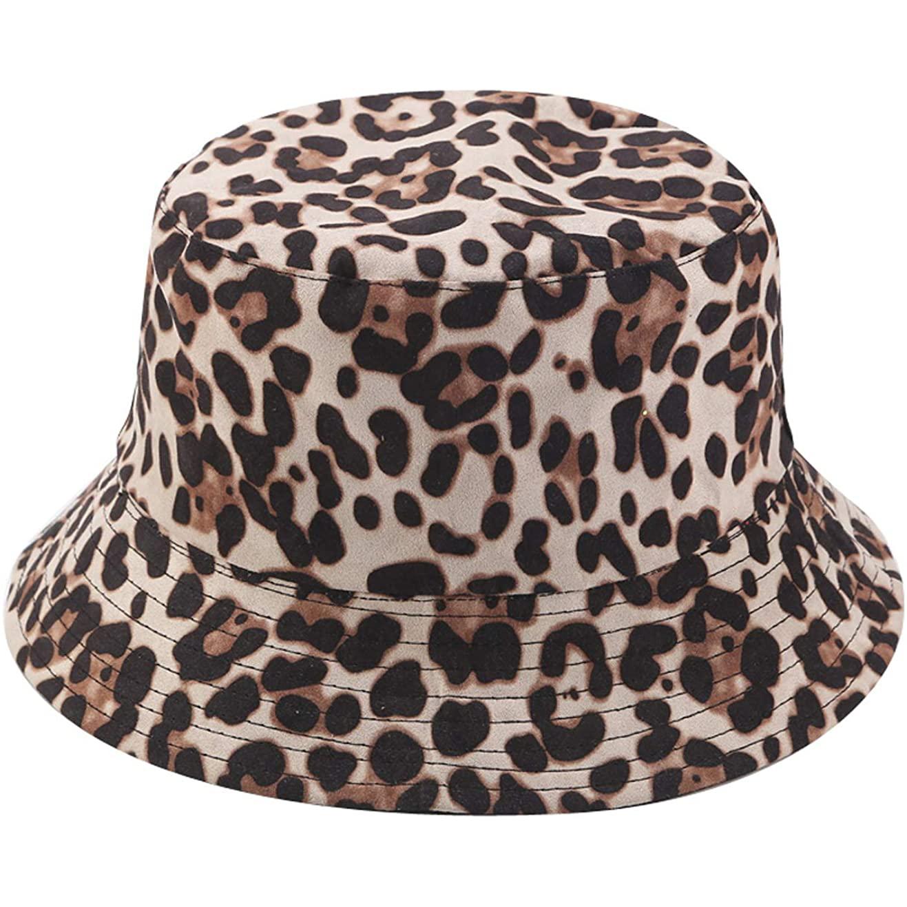 Joylife Leopard Print Bucket Hat