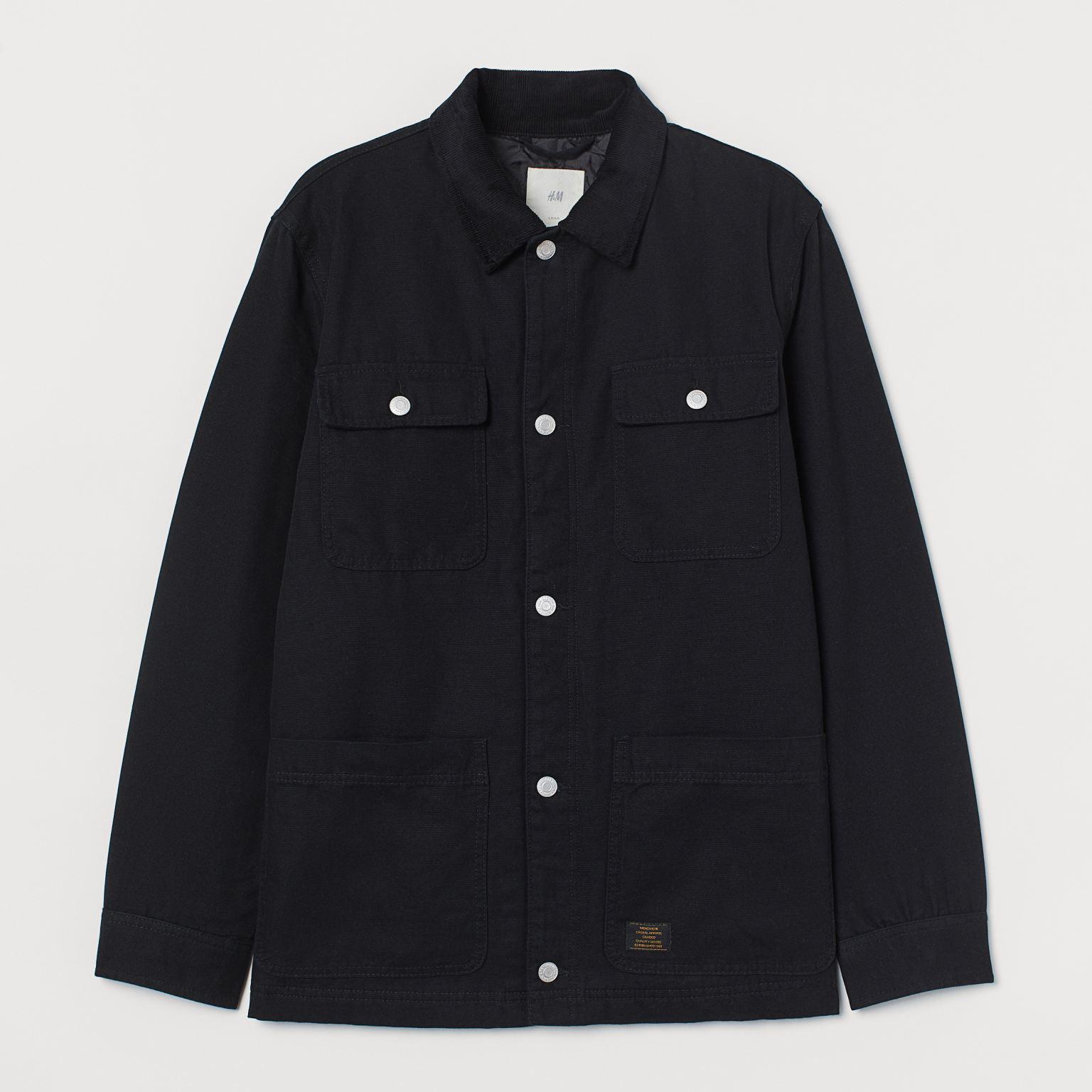 H&M Corduroy Collared Jacket