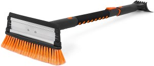 snow moover extendable snow brush, snow brushes for cars