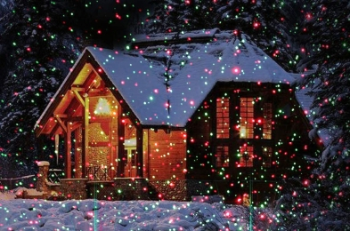 COOWOO Christmas Laser Lights