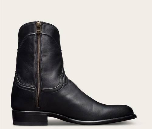 tecovas black the dean short boot