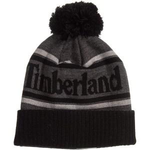 Timberland Logo Cuffed Beanie