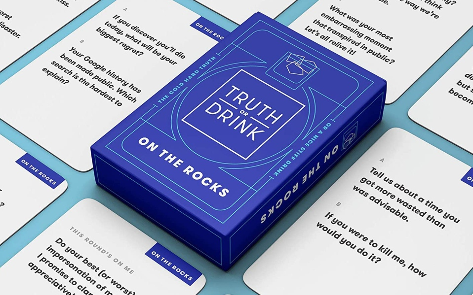Truth or Drink Drinking Card Game,
