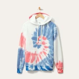 best hoodies for men - Feat BlanketBlend Hoodie (tie-dye style)
