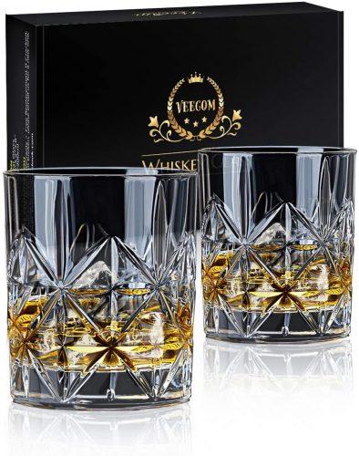 veecom Whiskey Glass