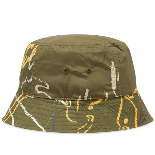 Wood Wood print bucket hat