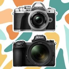 Two Mirrorless Cameras