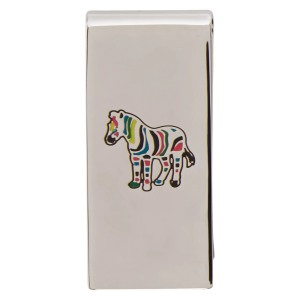 PS by Paul Smith Silver Zebra Money Clip