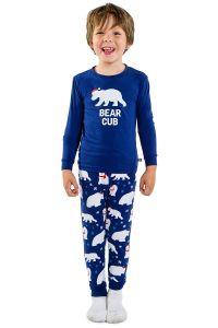 bear cub pajamas, matching Christmas pajamas