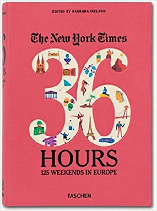 best gifts under $50 - 36 Hours 125 Weekends in Europe Book