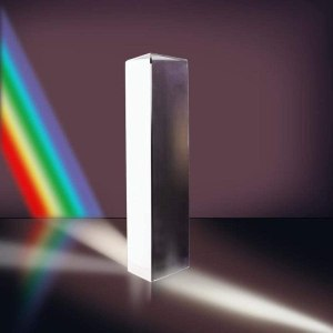 "MerryNine 6"" Optical Glass Triangular Prism"