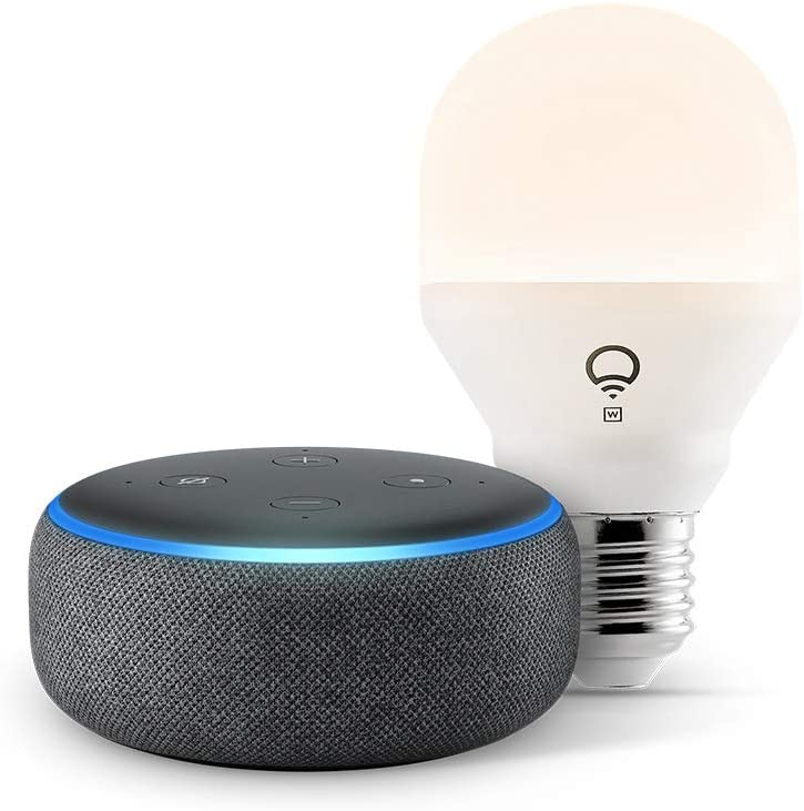 Amazon Echo Dot with LIFX Bulb