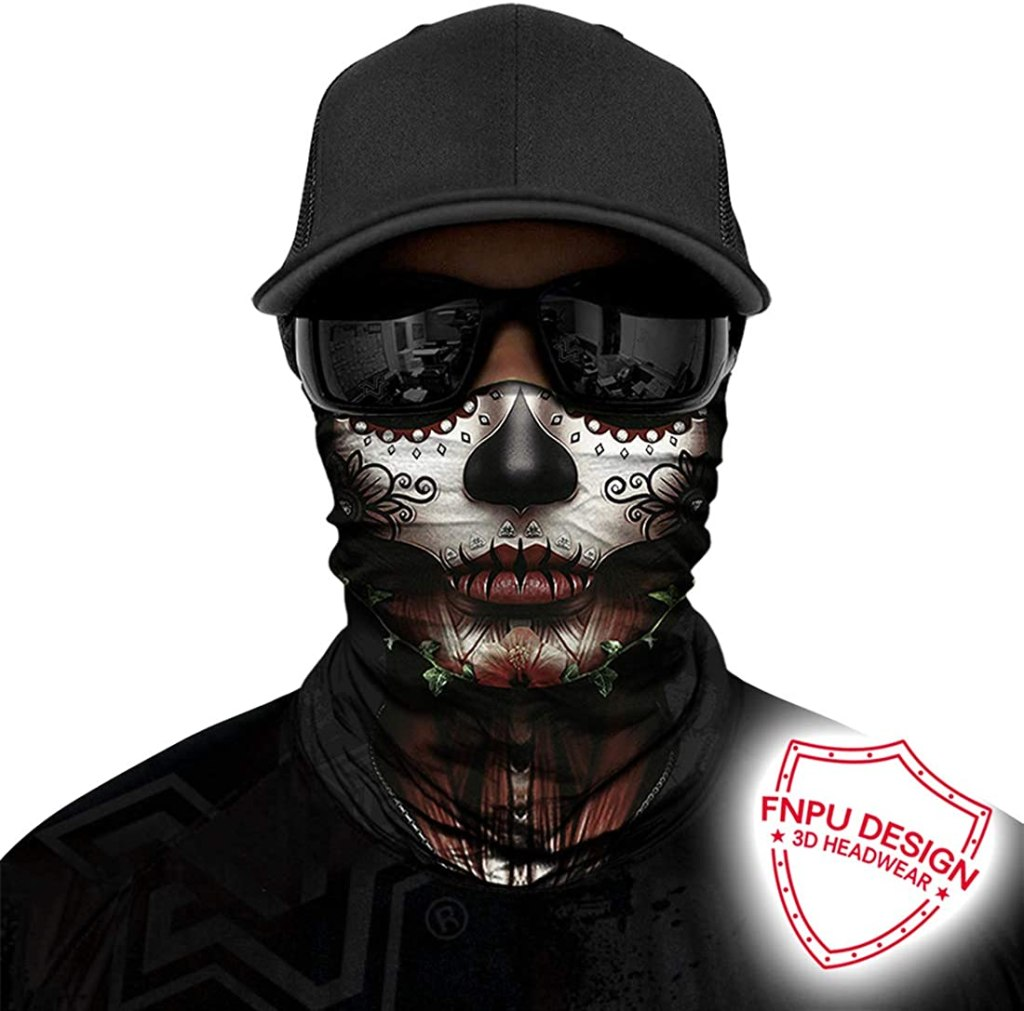 Day of the Dead Seamless Neck Gaiter