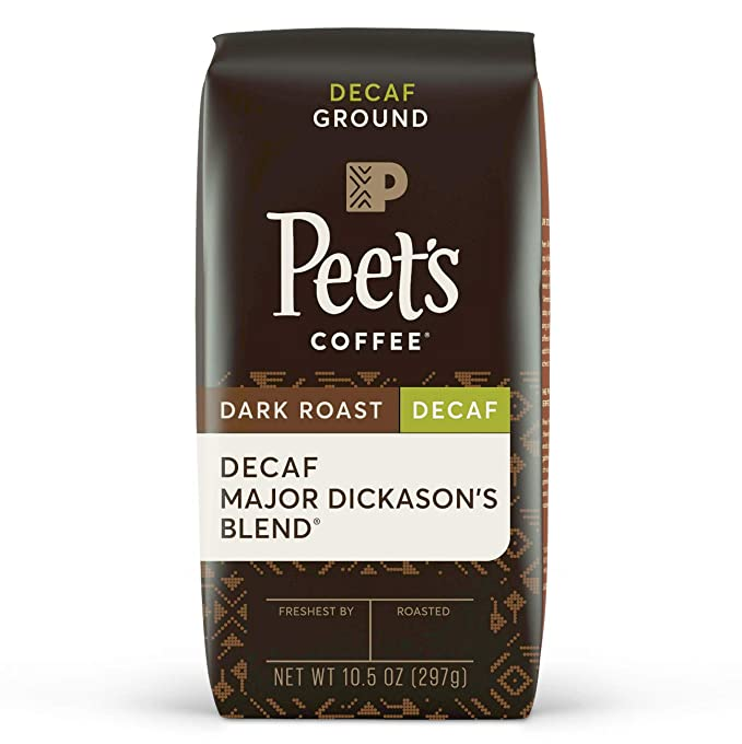 Peet's Decaf Coffee, best Decaf Coffee