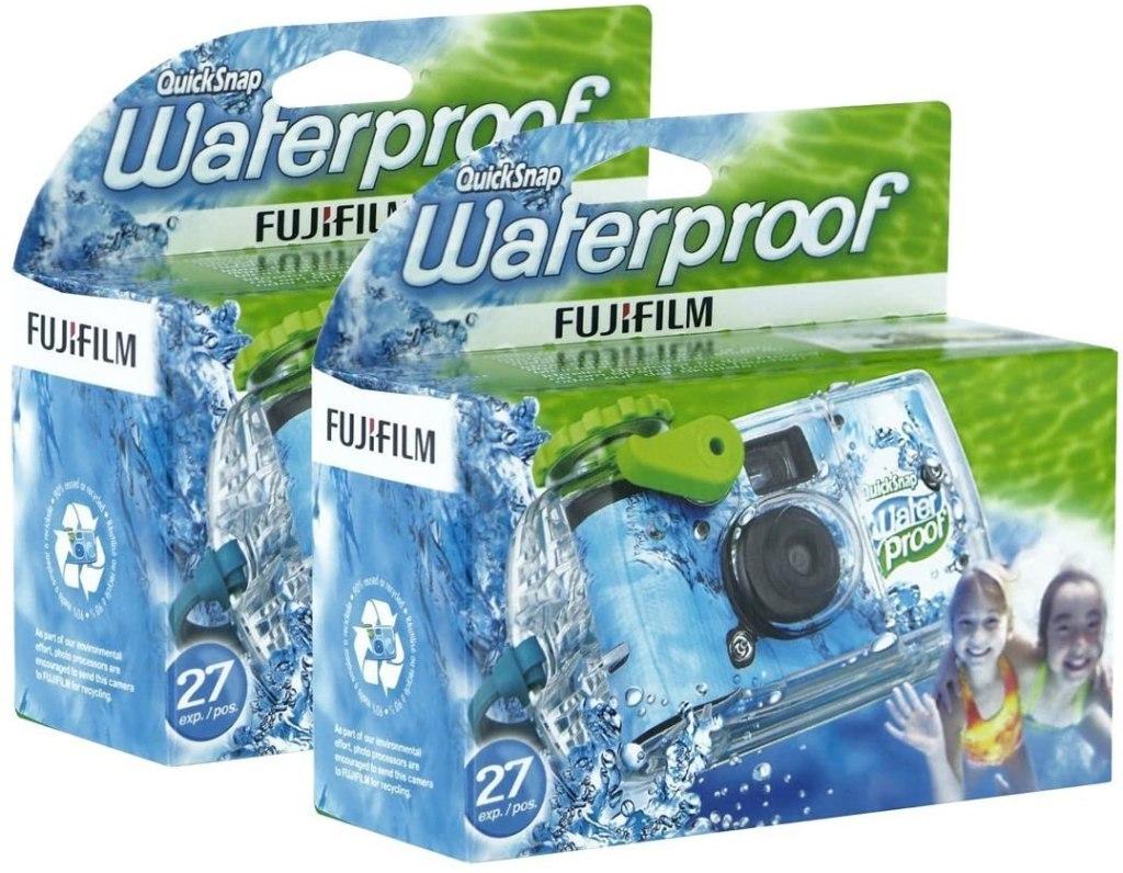 fujifilm quick snap underwater camera