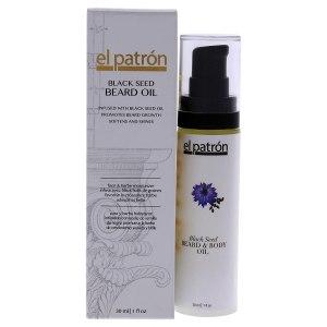 El Patron Black Seed Beard Oil - grooming products for black men