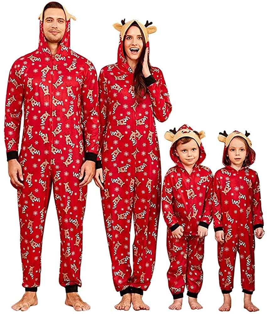 IFFEI Matching Family Pajamas Sets
