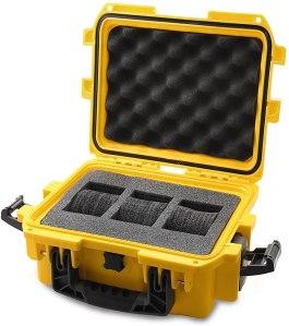 Invicta yellow plastic watch case, best watch case, best watch cases