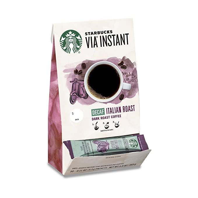 Starbucks decaf instant coffee