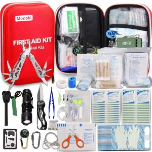 Monoki First Aid Kit Survival Kit