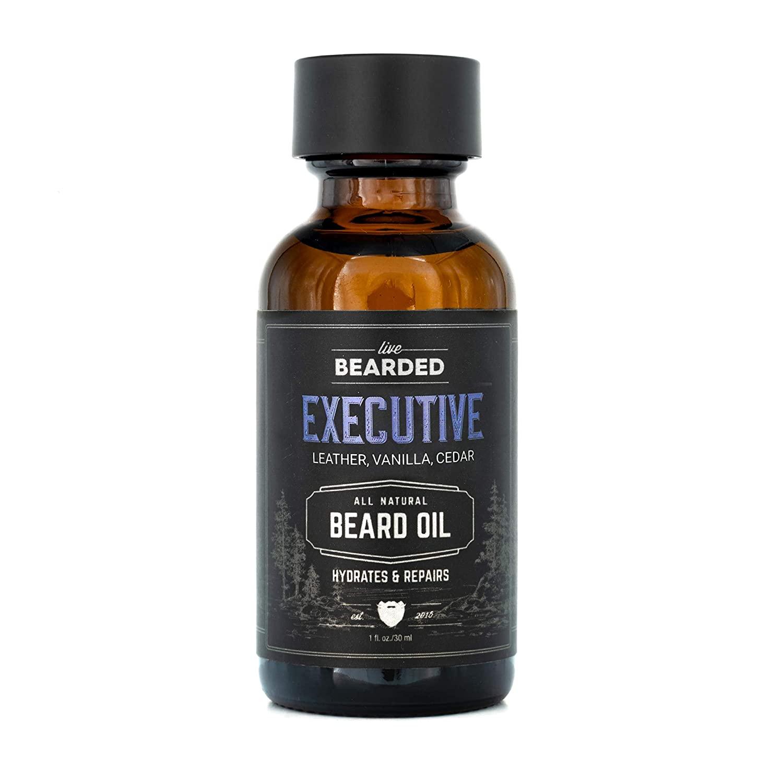 best gifts for men - Live Bearded All-Natural Beard Oil