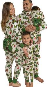 Flapjack Christmas pajamas, matching Christmas pajamas