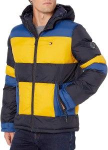 Tommy Hilfiger hooded puffer jacket, best puffer jackets